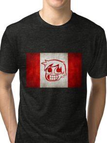 Scott Pilgrim Canada flag edition Tri-blend T-Shirt