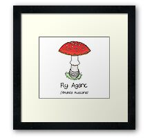 Fly Agaric (without smiley face) Framed Print