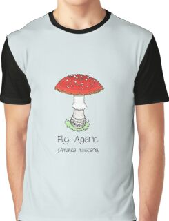 Fly Agaric (without smiley face) Graphic T-Shirt