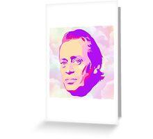 Mr. Pink Greeting Card