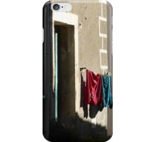 Wash day wall. iPhone Case/Skin