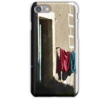 Wash day wall. iPhone Case/Skin