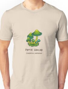 Parrot Waxcap (without smiley face) Unisex T-Shirt