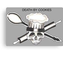 Death By Cookies Canvas Print