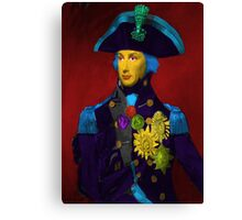 Horatio Nelson Pop Art Canvas Print