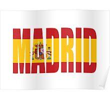 Madrid. Poster