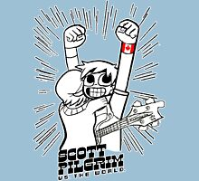 Scott Pilgrim vs the world Unisex T-Shirt