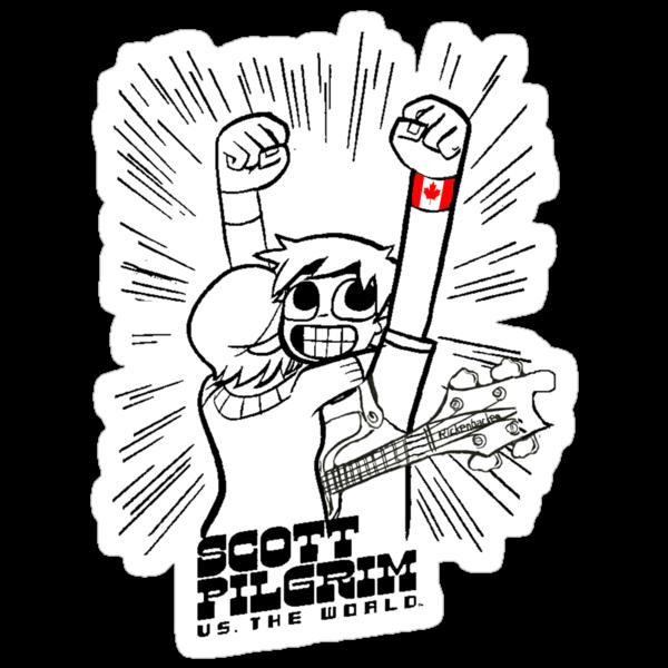 Scott Pilgrim vs the world by rodrigoafp