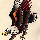 American Traditional Eagle by Meredith Bertschin