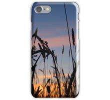 Evening grass iPhone Case/Skin