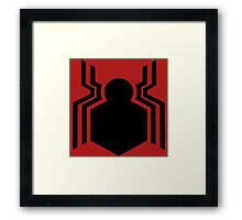 civil war - spider-man  Framed Print