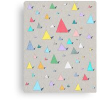 Colourful Geometric Pattern Canvas Print