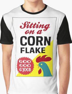 Sitting On A Corn Flake Graphic T-Shirt