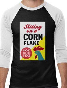 Sitting On A Corn Flake Men's Baseball ¾ T-Shirt