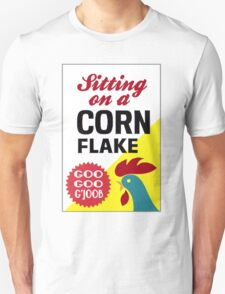 Sitting On A Corn Flake Unisex T-Shirt