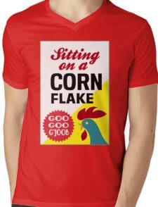 Sitting On A Corn Flake Mens V-Neck T-Shirt