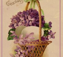 Easter Greetings Sticker