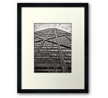 360 Building  Framed Print
