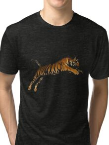 Tiger 4 Tri-blend T-Shirt