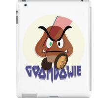 Goombowie (Ziggy Stargoomba) iPad Case/Skin
