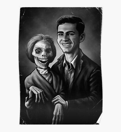 Bates Family Portrait Poster