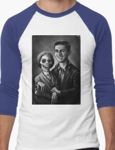 Bates Family Portrait Men's Baseball ¾ T-Shirt