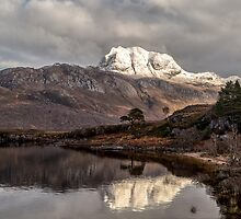 Slioch and Loch Maree by derekbeattie