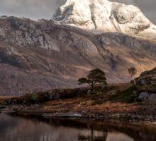 Slioch and Loch Maree Sticker