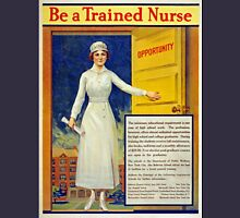 Be a trained nurse, restored vintage Women's Fitted Scoop T-Shirt
