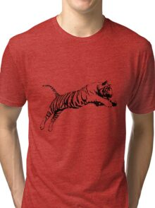 Tiger 5 Tri-blend T-Shirt