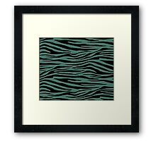 0312 Hooker Green Tiger Framed Print