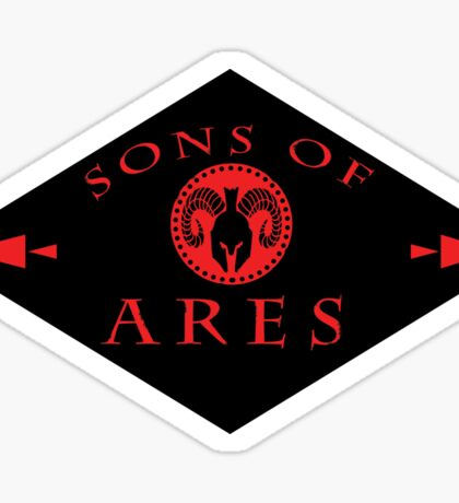 Sons of Ares Sticker