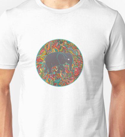 Elephant ornamental colorful Unisex T-Shirt
