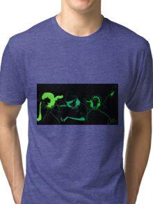 Run Green Run Tri-blend T-Shirt