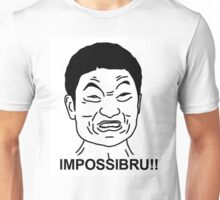 Impossible face  Unisex T-Shirt