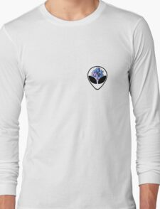 Alien Head Long Sleeve T-Shirt
