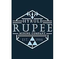 Hyrule Rupee Mining Company Photographic Print
