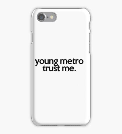 JUMPMAN YOUNG METRO TRUST ME iPhone Case/Skin