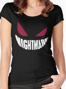 Gengar Nightmare Women's Fitted Scoop T-Shirt