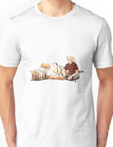 Real Calvin and Hobbes Unisex T-Shirt