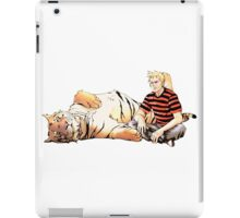 Real Calvin and Hobbes iPad Case/Skin