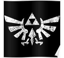 Zelda Triforce Symbol Poster
