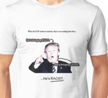 Trump is bringing rugs and grime Unisex T-Shirt