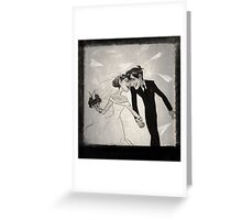 Paperman- Wedding Greeting Card