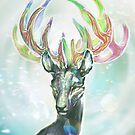 Crystal Stag by uselessmachine