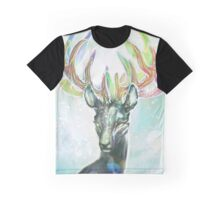 Crystal Stag Graphic T-Shirt