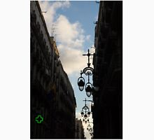 A Necklace of Barcelona Streetlamps Unisex T-Shirt