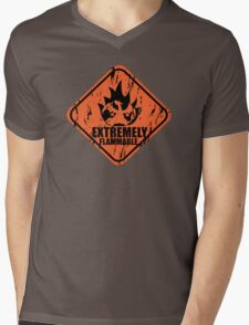 Pokemon Charmander Mens V-Neck T-Shirt