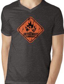 Pokemon Charmander Mens V-Neck T-Shirt