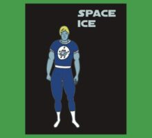 Space Ice of the Icetone Defense Squad Kids Tee